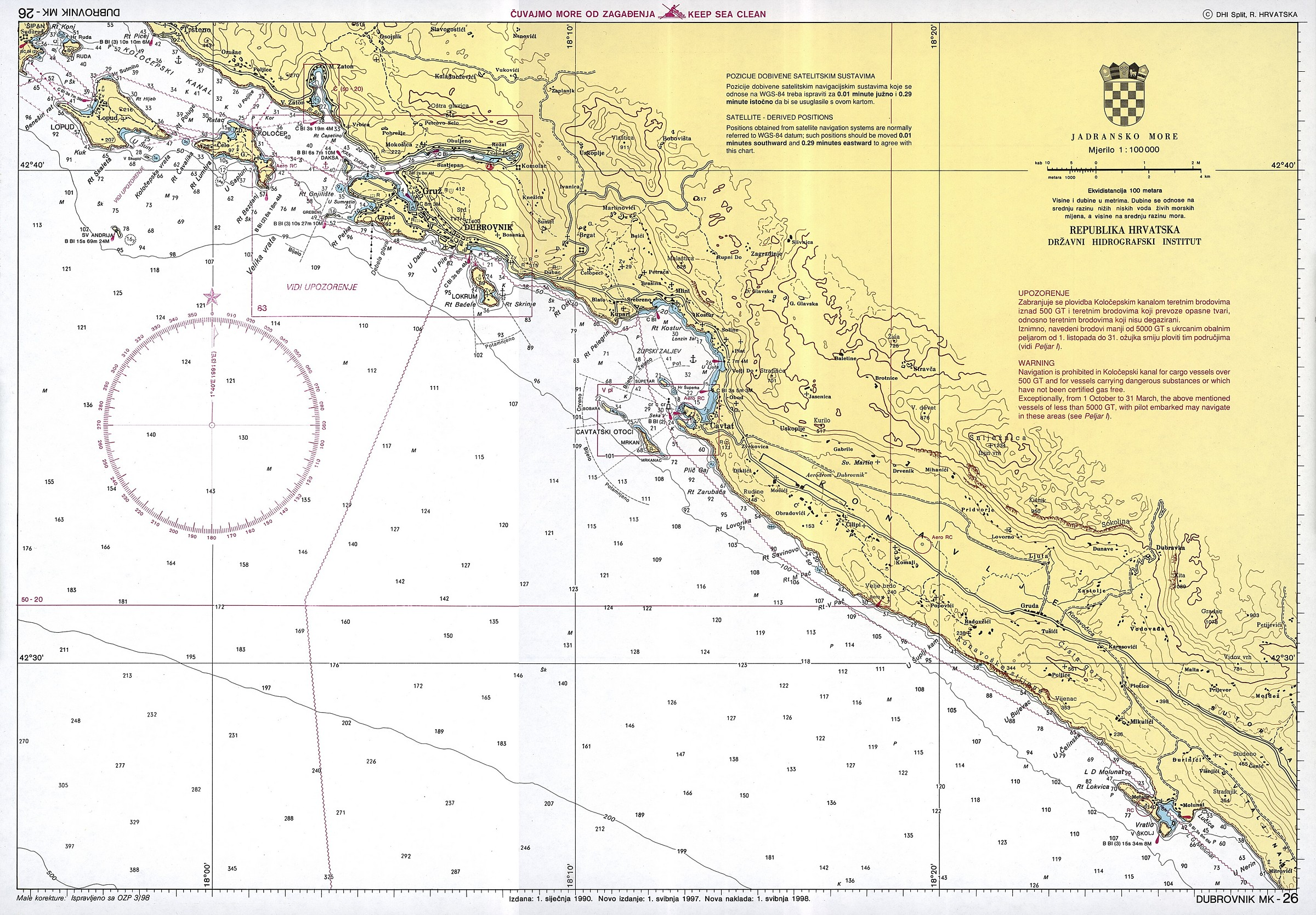 karta istre google maps Croatian nautical maps   Vakance charter karta istre google maps